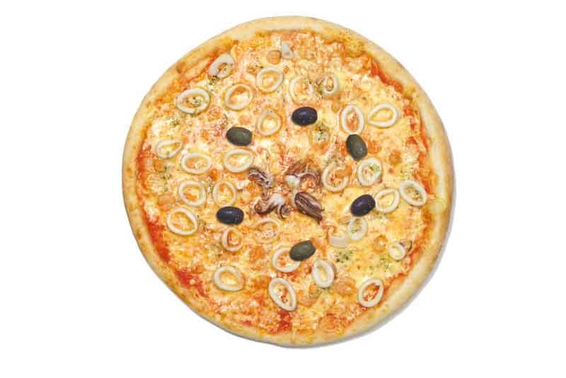 Calamari pizza - Hotel Špica Laško